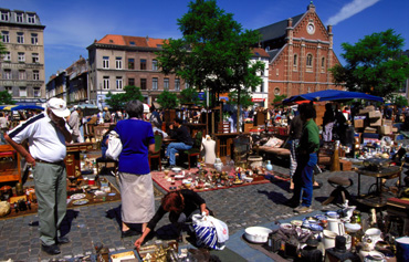 Flea Market in Brussels